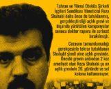 Reza Shahabi'ye Özgürlük!